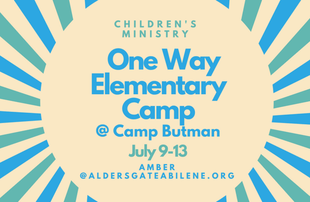 One Way Elementary Camp