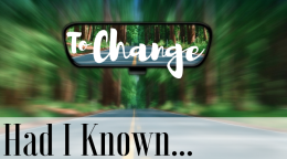 to change